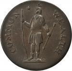 1787年马萨诸塞州美分 PCGS XF 45