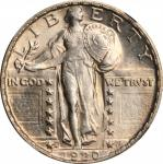 1920-S Standing Liberty Quarter. MS-65 (NGC).