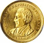 1905 Lewis and Clark Exposition Gold Dollar. MS-63 (PCGS).