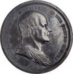 1825 John Quincy Adams Inaugural Medal. By Moritz Furst. Julian PR-5, Neuzil-45. Silver. Extremely F