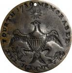 George Washington Inaugural Button. Eagle and Star. Cobb-4, for type, DeWitt-GW 1789-4, for type. Br
