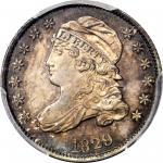 1829 Capped Bust Dime. JR-2. Rarity-2. Large 10C. MS-66 (PCGS).