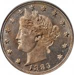 1883 Liberty Head Nickel. No CENTS. MS-65 (PCGS). OGH.