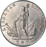 ITALY. Venice. 10 Lire, 1797. PCGS AU-50.