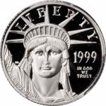 1999-W Tenth-Ounce Platinum Eagle. Proof-69 Deep Cameo (PCGS).
