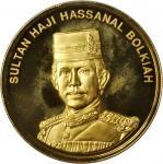 1994年文莱10枚一组精製套币。新加坡造币厂。GEM BRILLIANT PROOF.