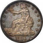 1876-CC Trade Dollar. Type I/II. MS-62 (PCGS). CAC. Secure Holder.