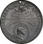 Circa 1845 Scientia Mores Emollit medal by Joseph Davis, Birmingham. Musante GW-168, Baker-350. Whit
