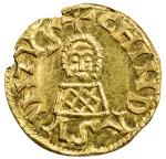 VISIGOTHS IN SPAIN: Chindasvinto, 642-653, AV tremissis (1.39g), Emerita (Mérida), derived from Mile