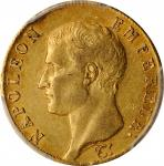 FRANCE. 40 Francs, 1806-A. Paris Mint. Napoleon I. PCGS AU-55 Gold Shield.