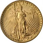 1910-D Saint-Gaudens Double Eagle. MS-63 (NGC). OH.