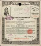 美国1000元储蓄债券 近未流通