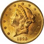 1895 Liberty Head Double Eagle. MS-63 (PCGS).