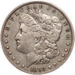 1893 Morgan Dollar. PCGS VF25