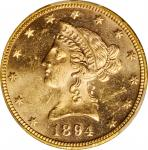 1894 Liberty Head Eagle. MS-63 (PCGS).
