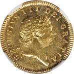 GREAT BRITAIN. 1/2 Guinea, 1804. George III (1760-1820). NGC MS-64.
