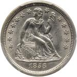 1856-S Liberty Seated Dime. PCGS MS65