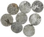 India, Princely States, Awadh, Kingdom Rupees (2), in the name of Alamgir II, Muhammadabad Banaras (
