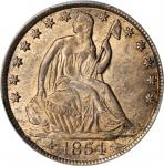 1854-O Liberty Seated Half Dollar. Arrows. WB-5. Rarity-3. MS-63 (PCGS).