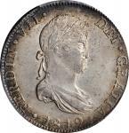 MEXICO. 8 Reales, 1819-Mo JJ. Mexico City Mint. Ferdinand VII. PCGS MS-61 Gold Shield.