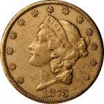 1873-CC自由帽双鹰金币 近未流通1873-CC Liberty Head Double Eagle
