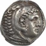 MACEDON. Kingdom of Macedon. Alexander III (the Great), 336-323 B.C. AR Tetradrachm (17.11 gms), Amp