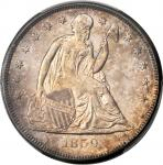 1859-O Liberty Seated Silver Dollar. MS-62 (PCGS).