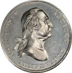 Circa 1847 Washington Temperance Society Declaration medal. Musante GW-172, Baker-328D. White Metal.