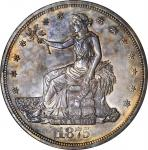1875 Trade Dollar. Type I/II. MS-62 (ANACS). OH.