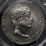 "NETHERLANDS Kingdom of Holland ホラント王国 50Stuivers 1808 PCGS-UNC Details""Cleaned"" 洗浄 AUDav-228 KM-28 ル"