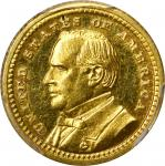 1903 Louisiana Purchase Exposition Gold Dollar. McKinley Portrait. Proof-63 (PCGS). CAC.