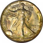 1941 Walking Liberty Half Dollar. Breen-5182. No AW. Proof-69 (NGC).