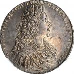 RUSSIA. Ruble, 1728. Peter II. NGC MS-61.