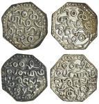 Assam, Gadadhara Simha (Siu-pat-pha) (1681-96), octagonal Rupees (2), 11.25, 10.98g, legends, bird a