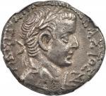TIBERIUS, A.D. 14-37. Egypt, Alexandria. BI Tetradrachm (13.88 gms), Year 7 (A.D. 20/21).