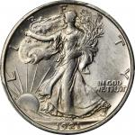 1921-D Walking Liberty Half Dollar. MS-63 (PCGS).