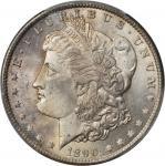 1890-CC Morgan Silver Dollar. MS-65 (PCGS).