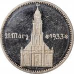 GERMANY. Third Reich. 5 Mark, 1934-F. Stuttgart Mint. PCGS PROOF-63 Deep Cameo Gold Shield.