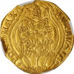 ITALY. Papal States. 2 Fiorino di Camera, ND (1503-13). Rome Mint. Julius II. NEC AU-50.