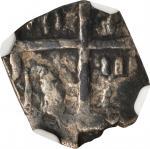 COLOMBIA. 1/2 Real, ND (1621-65). Santa Fe de Nuevo Reino (Bogota) Mint. Philip IV (1621-65). NGC VF