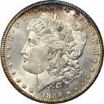 1889-CC Morgan Silver Dollar. MS-65 PL (NGC). OH.