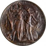 1904 Louisiana Purchase Exposition. Philippine Exhibit Bronze-Level Award Medal. By Adolph Alexander