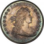 1802 Draped Bust Silver Dollar. Proof Restrike or novodel. Bowers Borckardt-302, Bolender-8. Rarity-