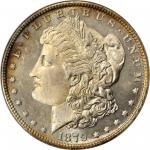 1879 Morgan Silver Dollar. MS-65 DMPL (ANACS). OH.