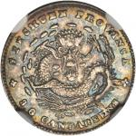 CHINA. Szechuan. 3.6 Candareens (5 Cents), ND (1901-08). NGC Unc Details--Excessive Surface Hairline