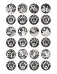 1995年丝绸之路系列(第1组)纪念银币22克全套4枚 NGC PF 69