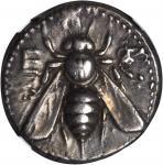 IONIA. Ephesus. AR Tetradrachm (15.22 gms), ca. 390-325. NGC EF, Strike: 5/5 Surface: 4/5.