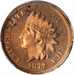 1877 Indian Cent. Proof-64 RD (PCGS).