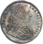 """USA Amérique-Canada (colonies françaises), Louis XV (1715-1774). Jeton """"NON INFERIORA METALLIS"""" frap"""