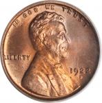 1922-D Lincoln Cent. MS-64 RD (PCGS).